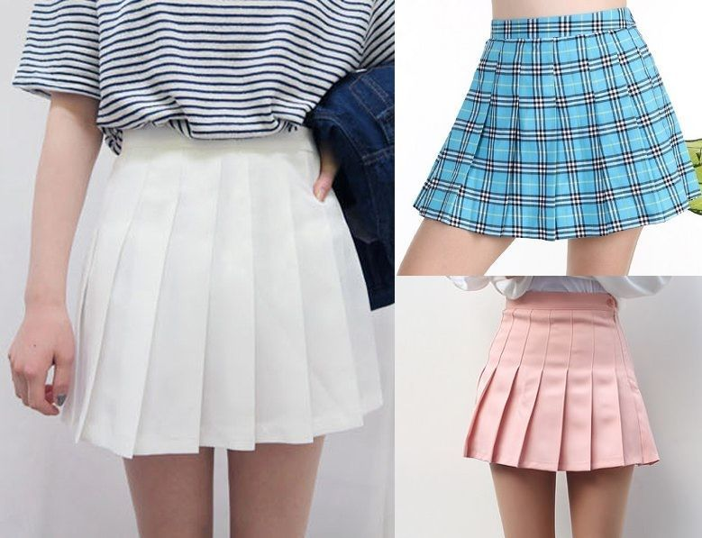 comprar popular 9ecfc 7a36d Patrón Falda de colegiala - Patrones gratis