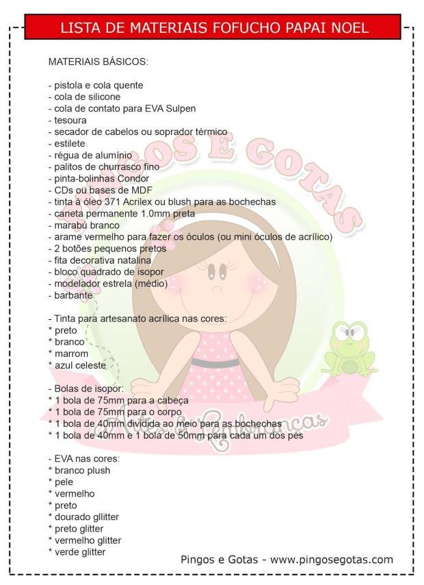 lista-de-materiales-papa-noel-fofucho
