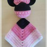 Patrón Mantita de Apego Mickey – Minnie Mouse