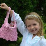 DIY Bolsa para niña con camiseta reciclada
