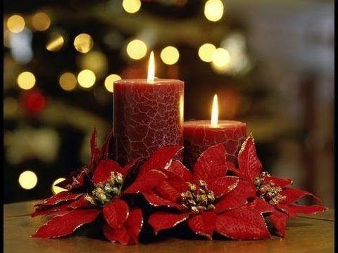 Diy como hacer centros de mesa para navidad patrones gratis - Preparar mesa navidad ...