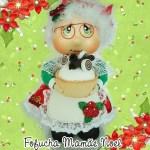 DIY y moldes de Mamá Noel fofucha