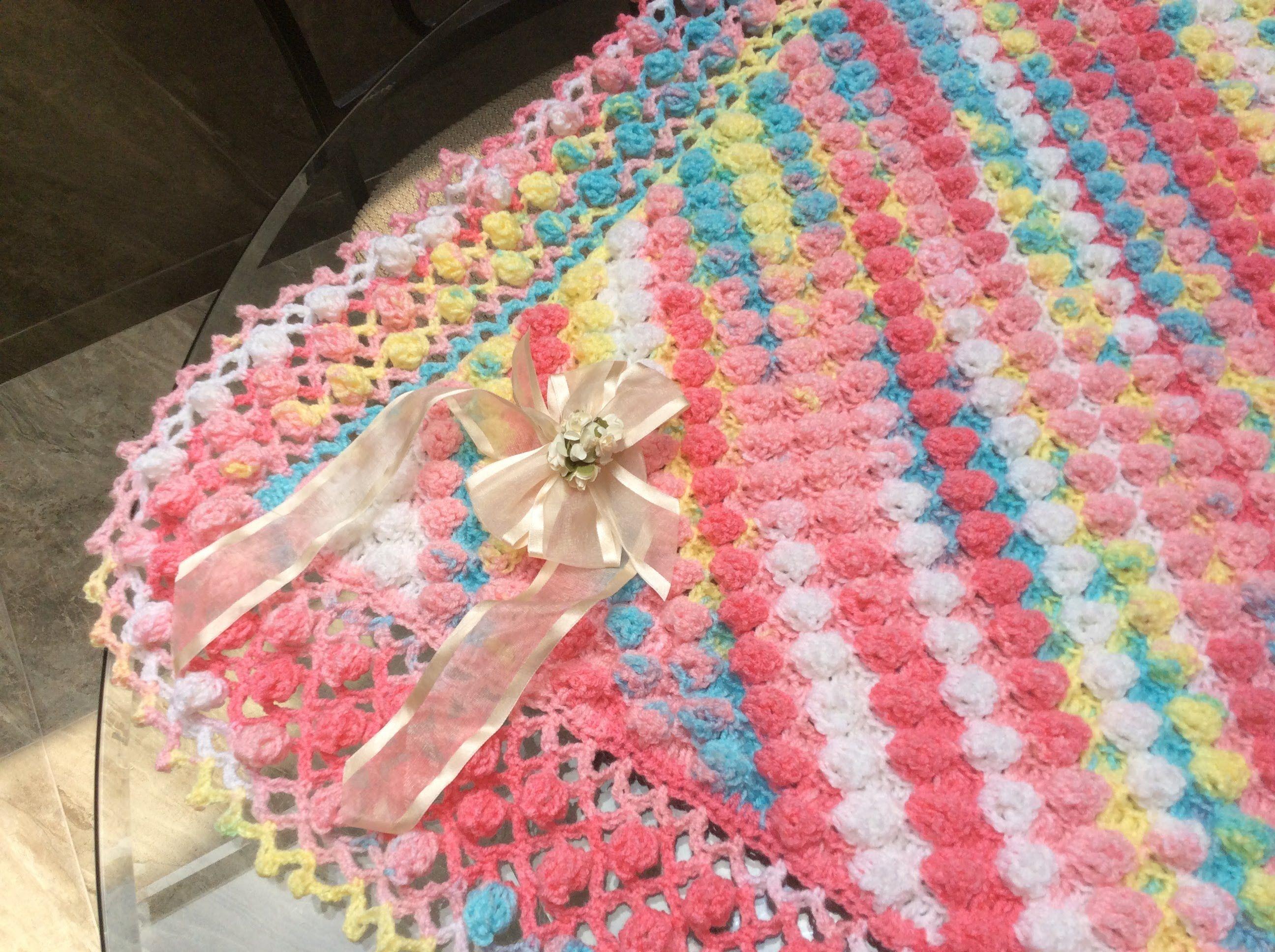 tutorial de manta a crochet patrones gratis