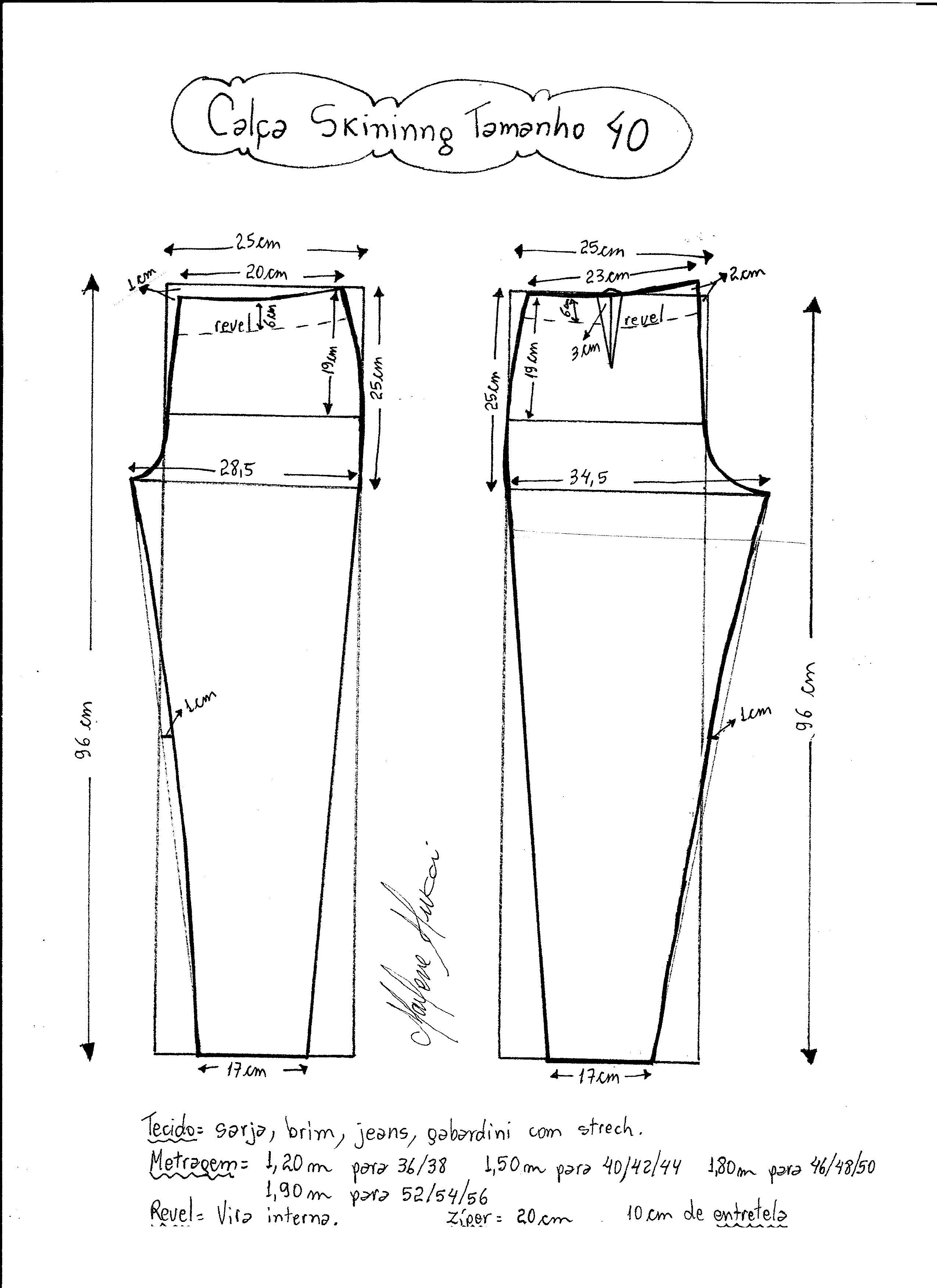 pantalones-ajustados-40 | Proyectos que debo intentar | Pinterest ...
