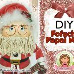 DIY y moldes de Papá Noel Fofucho