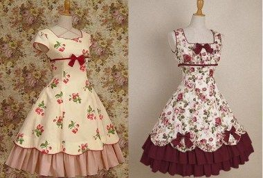 vestidovintagevolante