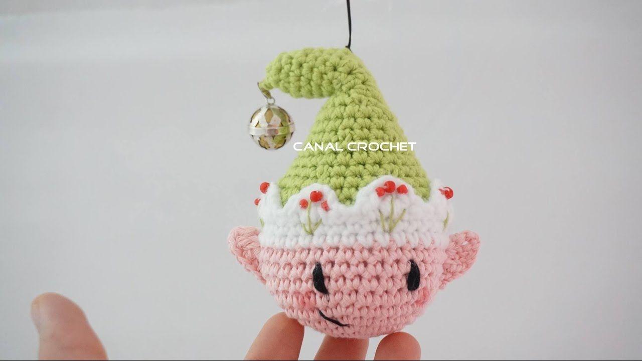 Amigurumis Navidad Paso A Paso : Bola duende amigurumi patrones gratis