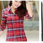 Patrón Camisa entallada de mujer