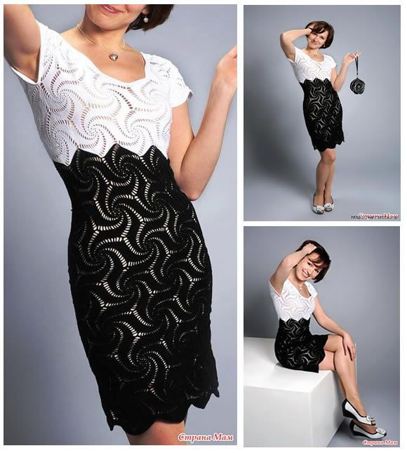 vestido-crochet-blanco-negro