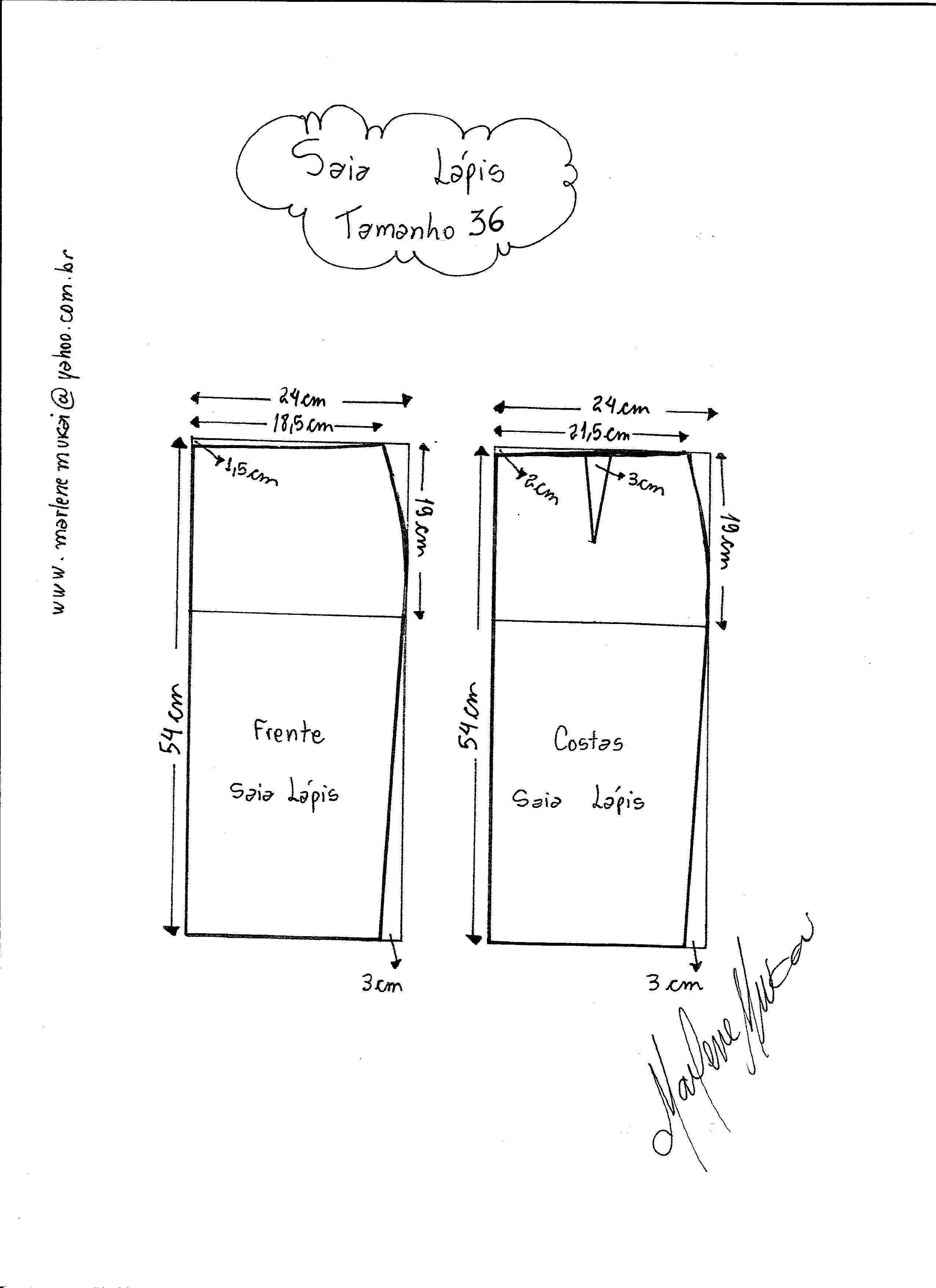 aa8c4f7152 Tallas para falda clásica  talla-36 ...