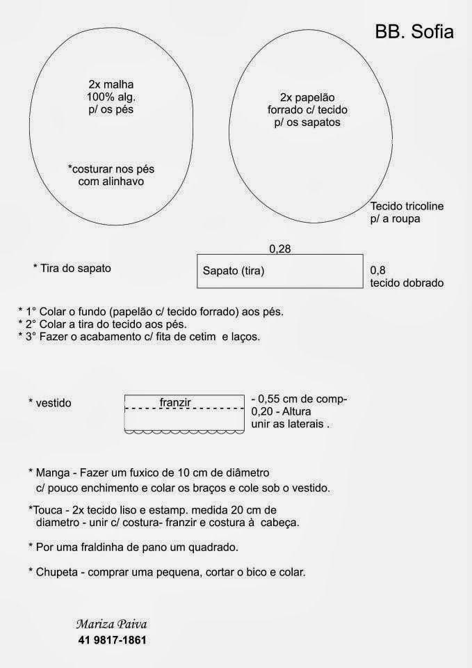 Patrón Muñeca Bebé - Patrones gratis