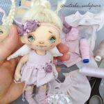 Hermosa muñeca con Patrón