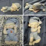 Muñeco dormilón con patrón
