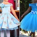 Patrón vestido de fiesta para niña