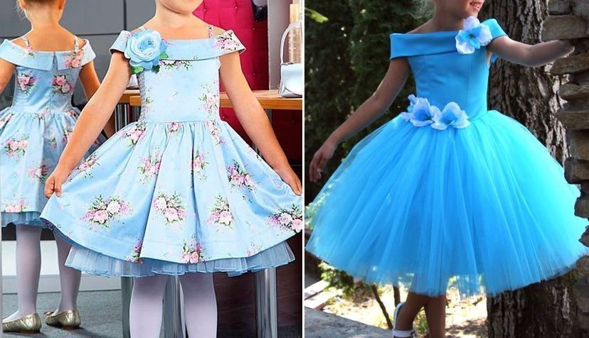Patrón vestido de fiesta para niña - Patrones gratis