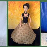 DIY vestidos de princesas para muñecas Barbie