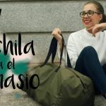 DIY mochila para el gimnasio/ Bolso de viaje