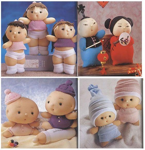 DIY - Muñecos con calcetín