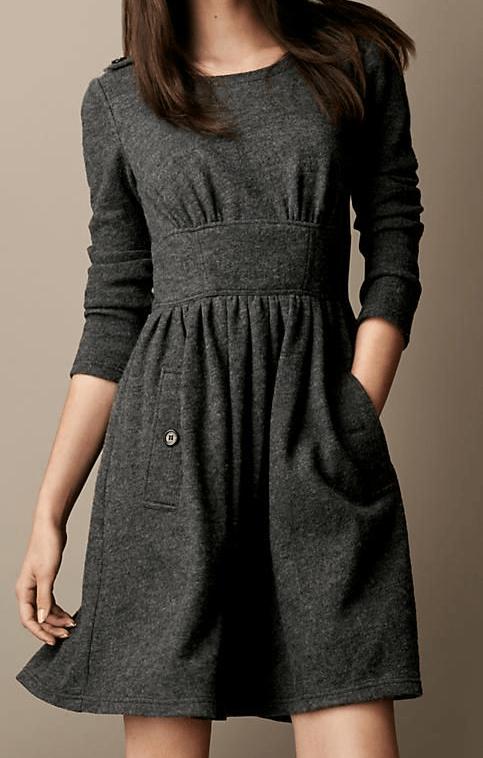Moldes de vestidos de invierno gratis