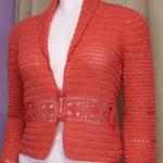 DIY Chaqueta bolero elegante a crochet
