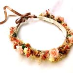 DIY como hacer una corona de flores para ocasiones especiales
