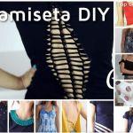 DIY e Ideas para customizar camisetas