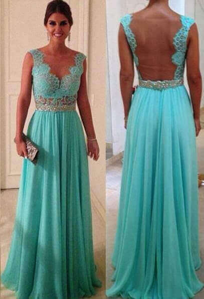 Patrones de vestidos largos de gala