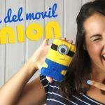 DIY Funda para el móvil de Los Minions en fieltro