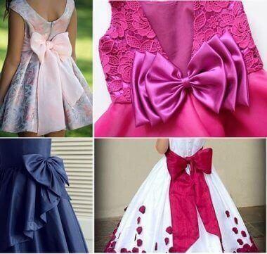 556c831632 Patrón de lazo para vestidos de niña - Patrones gratis