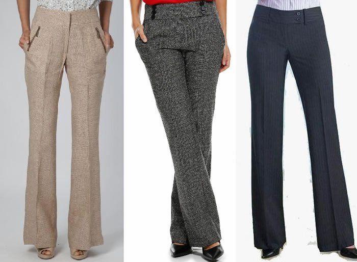 Patrón Pantalón de sastre de mujer - Patrones gratis