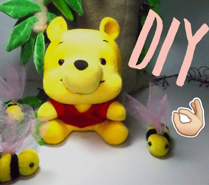 DIY Como hacer peluche de Winnie Pooh Baby - Patrones gratis