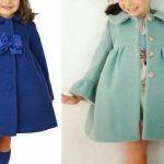 Patrón abrigo para niña