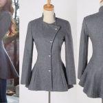 Patrón chaqueta moulet entallada para mujer