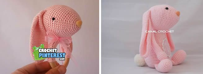 Jirafa llavero amigurumi tutorial by CANAL CROCHET | 239x655