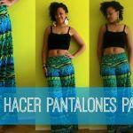 DIY Pantalones de verano en 20 minutos