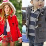 Patrón abrigo con capucha para niños