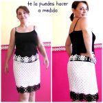 DIY Falda de ganchillo o crochet