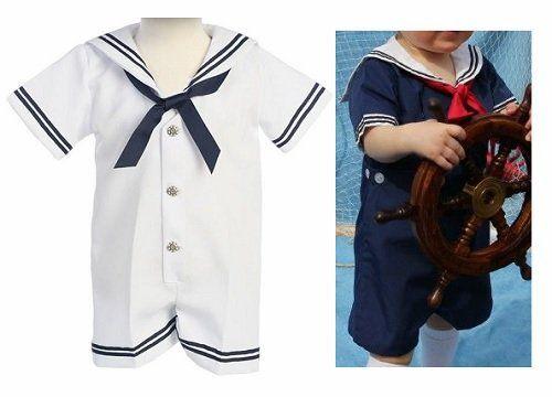 34e6310f8 Patrón de traje marinero de bebé - Patrones gratis