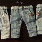 DIY Pantalones vaqueros para muñecos