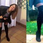 Diy botas con calcetines