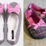 Patrón zapatillas infantiles de tela