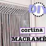 cómo hacer una cortina de macramé DIY