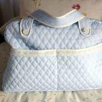 DIY bolsa para pañales para bebé