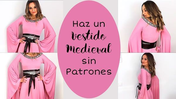 Vestido Medieval Sin Patrón