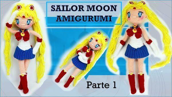 Muñeca Amigurumi Sailor Moon