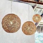 DIY Como hacer lamparas con cuerda