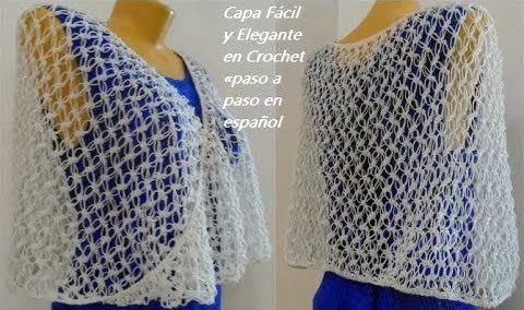 Patrones A Elegante Fácil Y Gratis Paso En Capa Crochet 0Pxvn