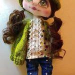 DIY Pantalón vaquero y blusa para muñecas