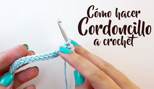 Como hacer Cordoncillo a crochet