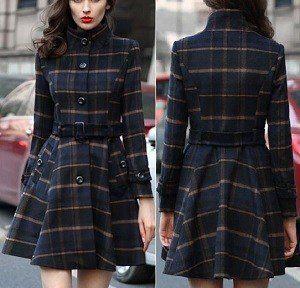 Patrón para hacer un Vestido abrigo